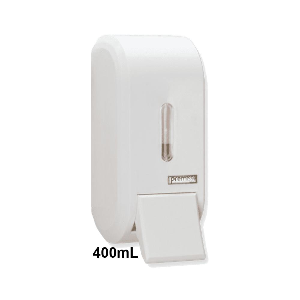 Dispenser de Sabonete com Reservatório 400mL Branco Urban Compacta Premisse