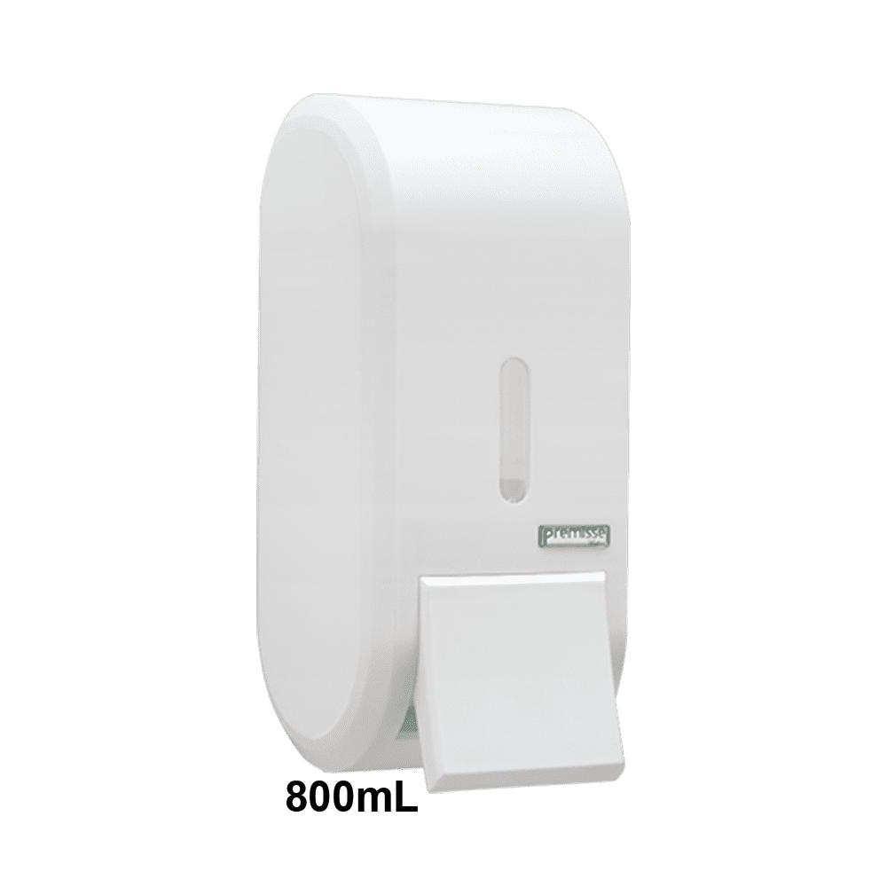 Dispenser de Sabonete Espuma com Reservatório 800mL Branco Urban Premisse