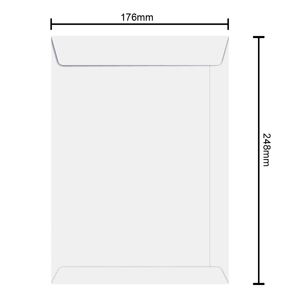 Envelope 176mm x 248mm 90g 6471 Ipecol