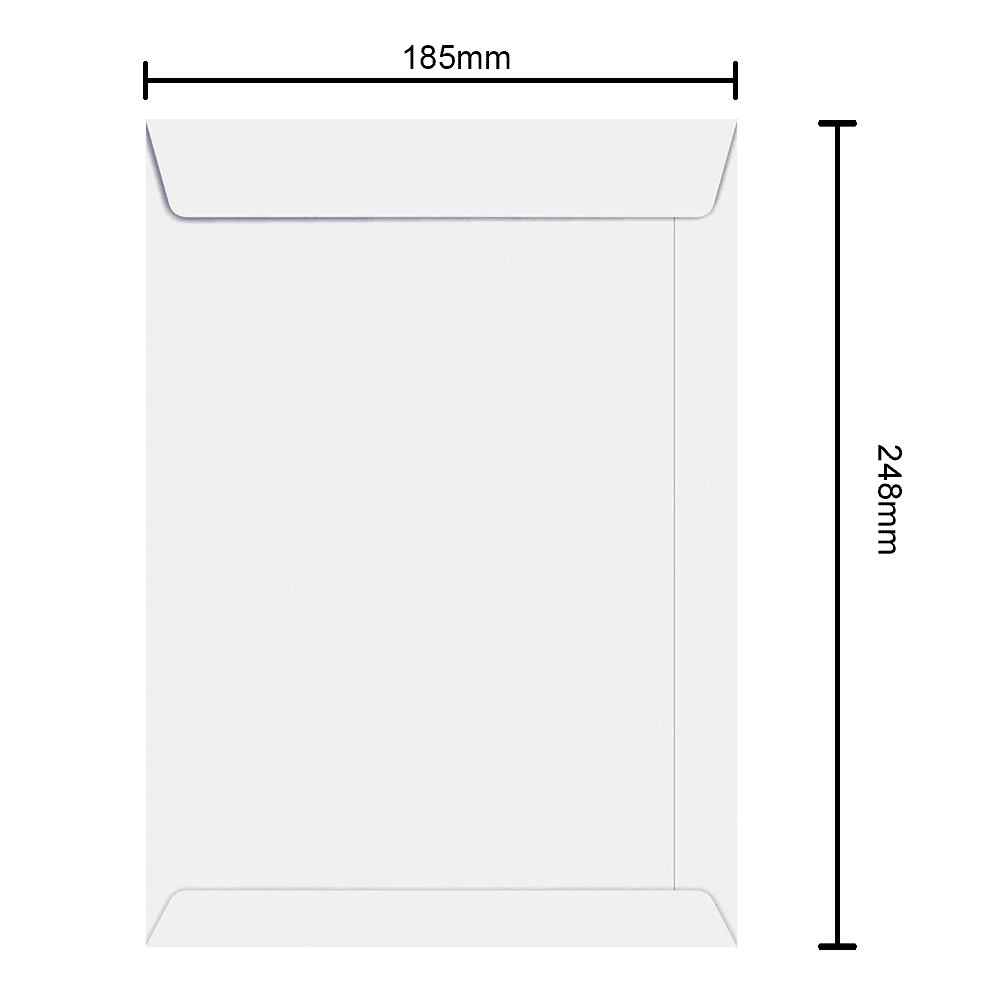 Envelope 185mm x 248mm 90g 6462 Ipecol