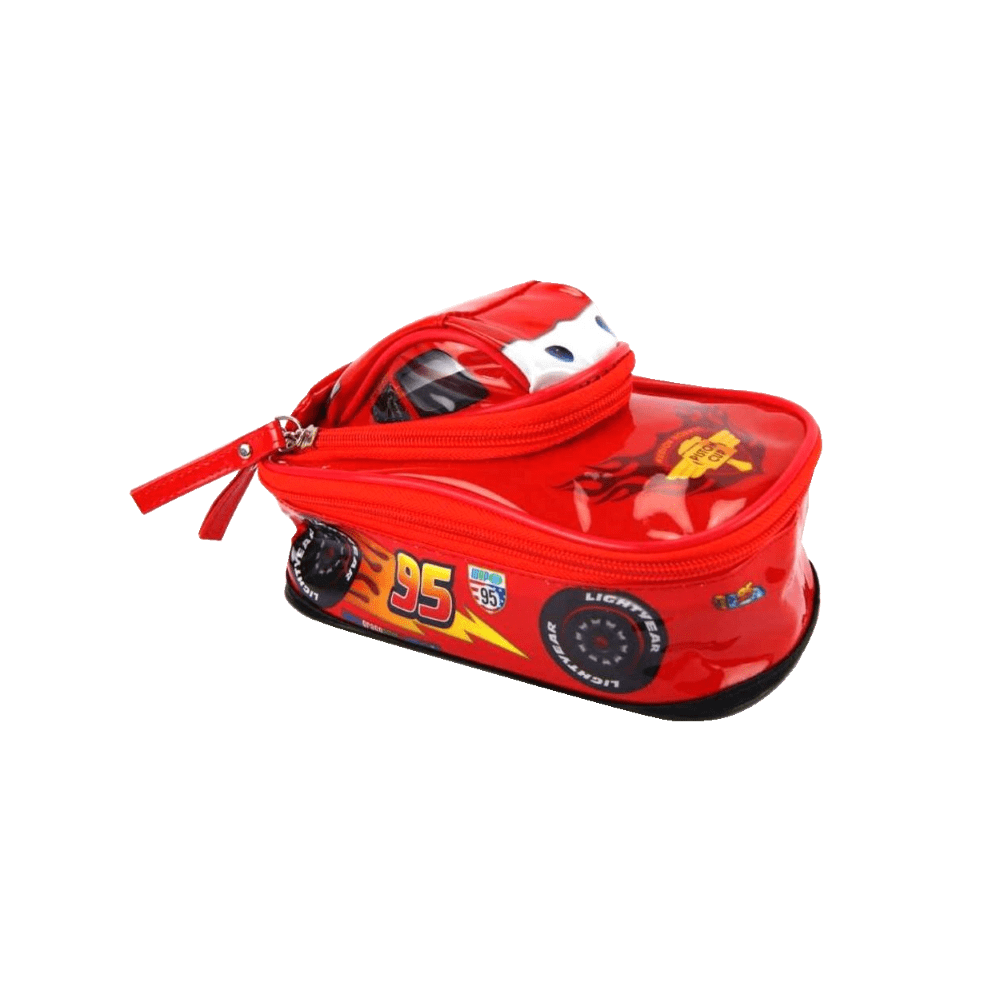 Estojo Escolar 3D Carros Dermiwil