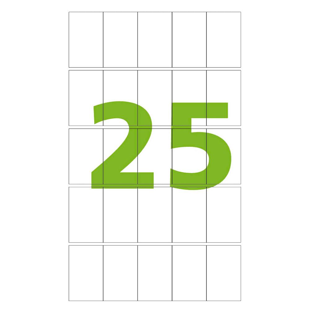 Etiqueta A5 23mm x 37mm 12 folhas CA52337 Colacril