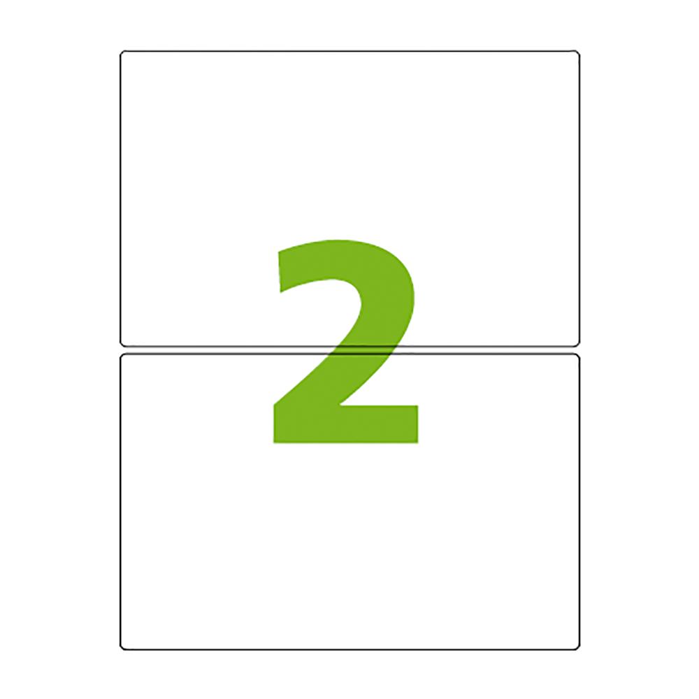 Etiqueta Carta 138,11mm x 212,73mm 25 Folhas CC286 Colacril