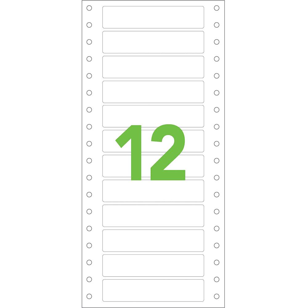 Etiqueta Contínua 107mm x 23,4mm 1 Coluna Colacril