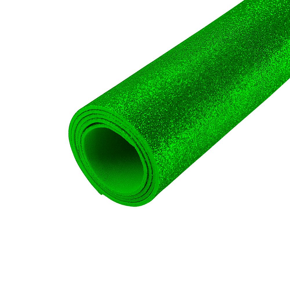 EVA Glitter 400mm x 480mm Verde 1.5mm BRW