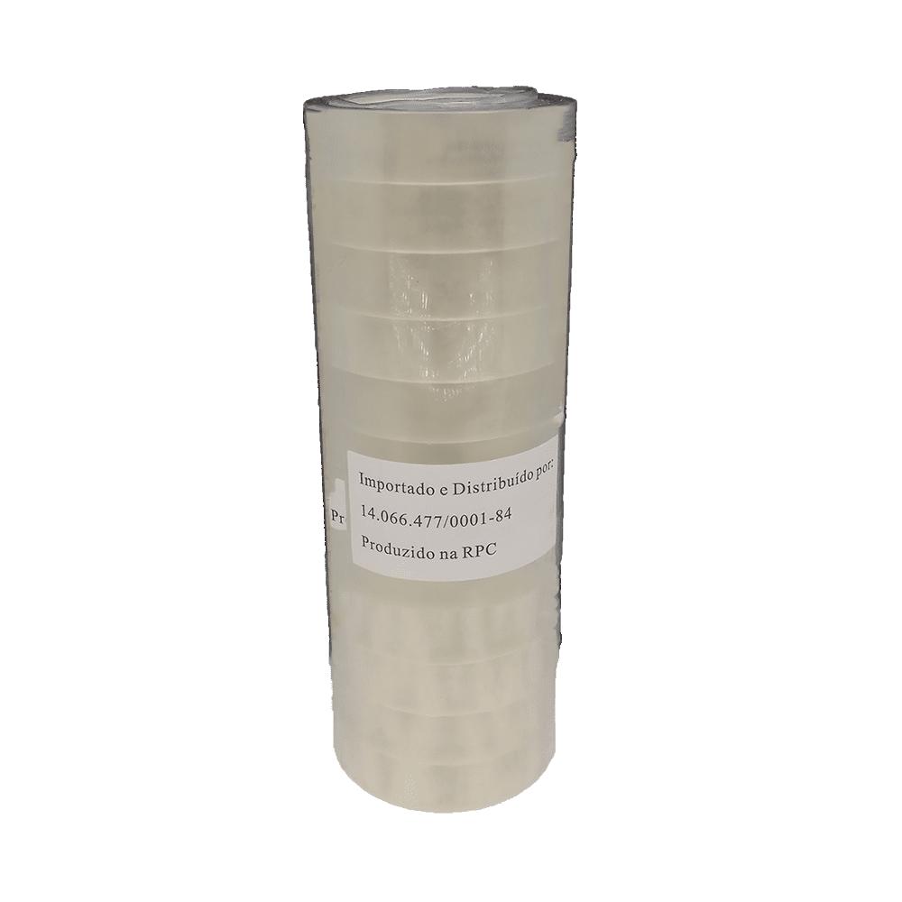 Fita PP 12 mm x 30 m Transparente 12 und NeoMundi