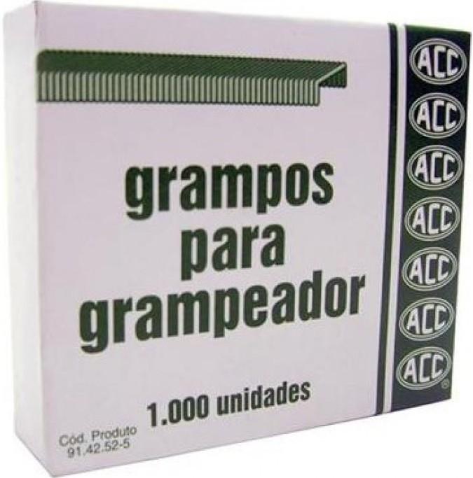 Grampo 23/23 Galvanizado 1000 unidades Acc