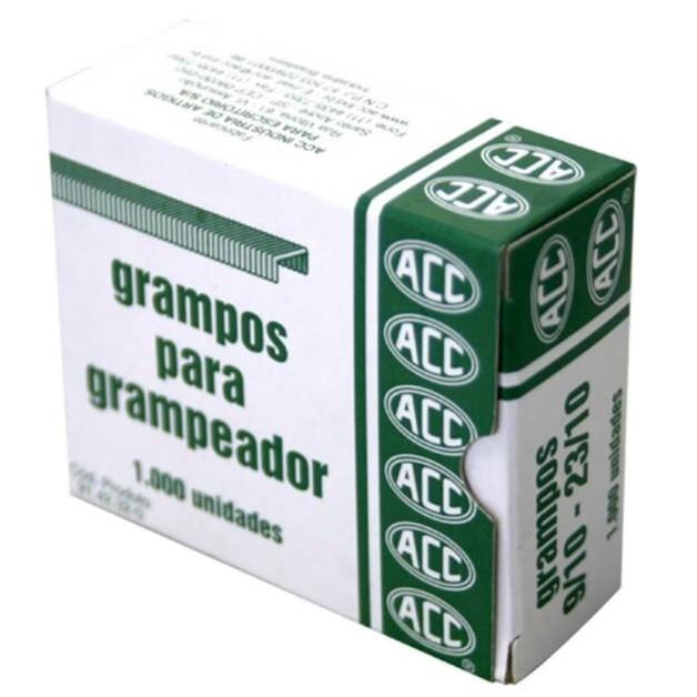 Grampo 9/10 - 23/10 Galvanizado 1000 unidades Acc