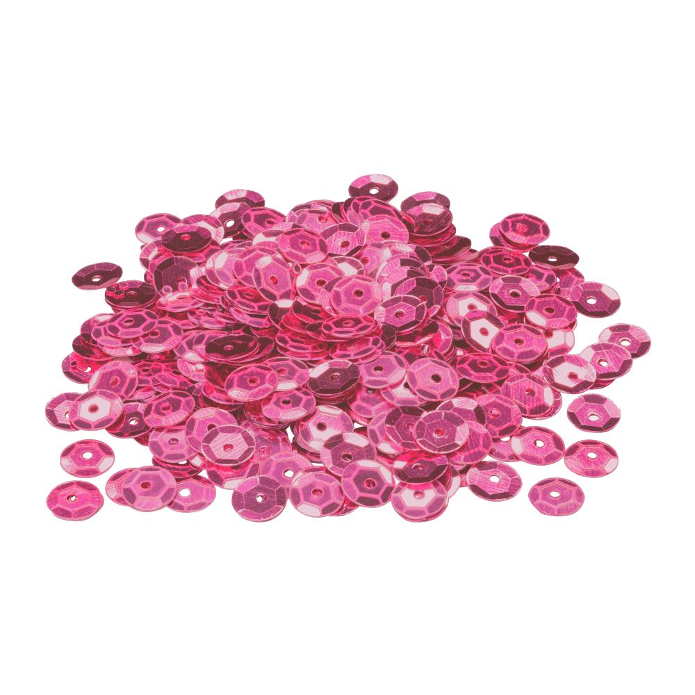 Lantejoula Pink 6mm 2g BRW