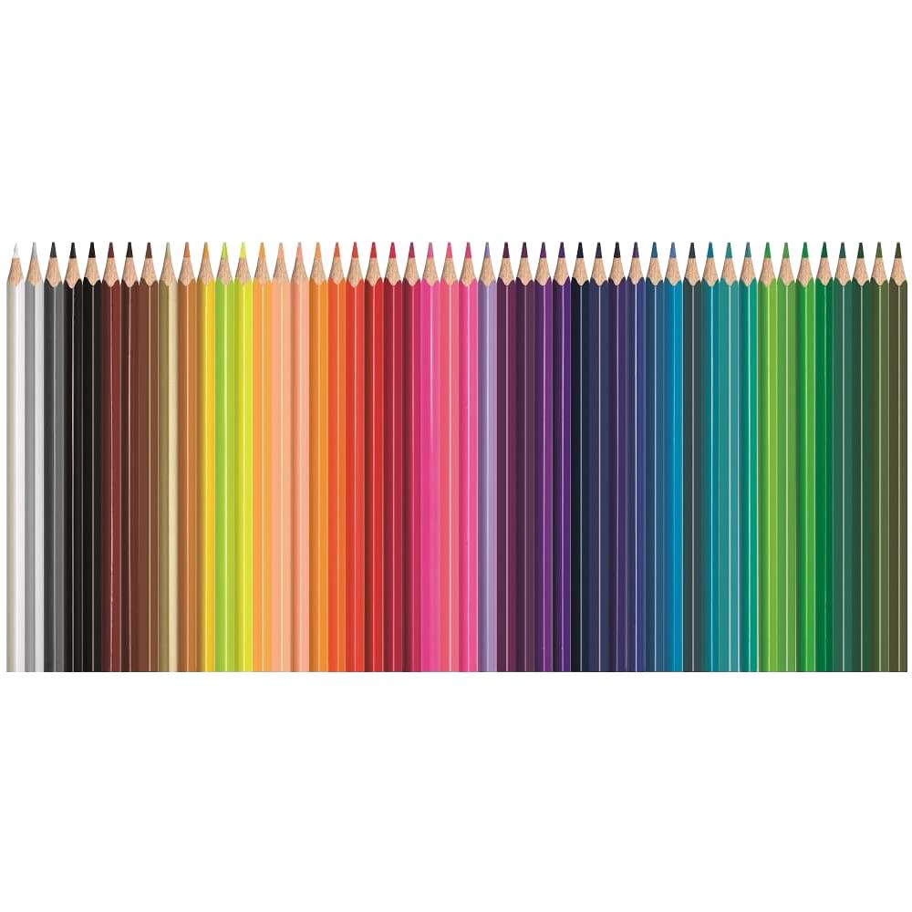 Lápis de Cor Triangular Color'Peps 48 Cores Estojo Metálico Maped