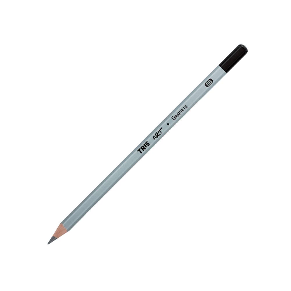 Lápis Grafite 6B Art Graphite Tris