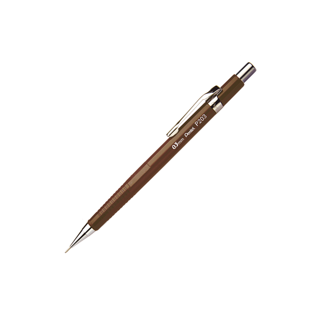 Lapiseira 0.3mm Tradicional Sharp P203 Pentel