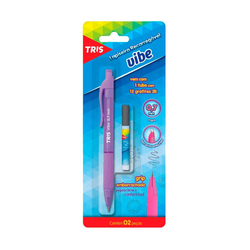 Lapiseira 0.7mm com Grafite Vibe Tris