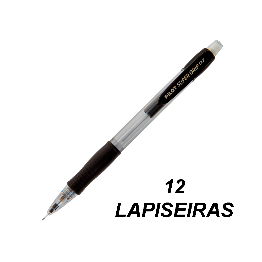 Lapiseira 0.7mm Super Grip Azul 12 und Pilot