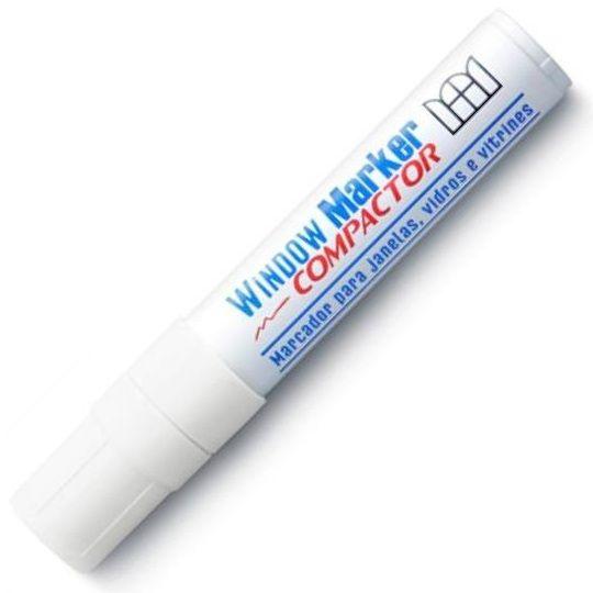 Marcador para Vidro Window Marker Branco Compactor