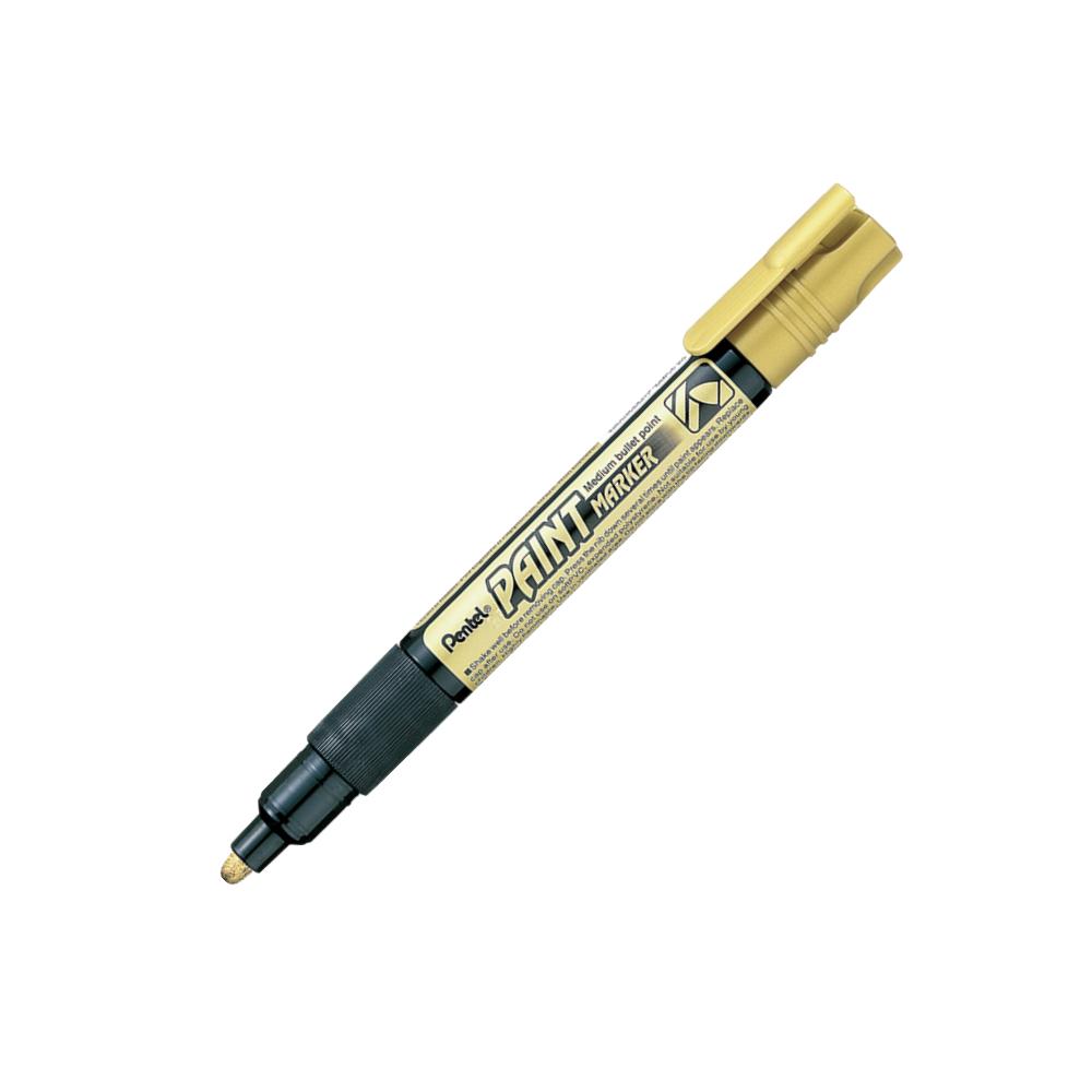 Marcador Permanente Dourado Paint Marker Pentel
