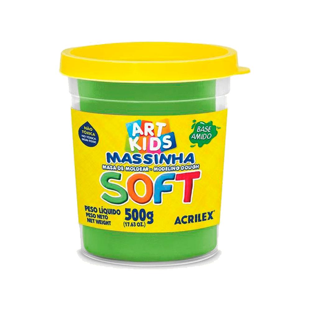Massinha de Modelar Soft 500g Verde Acrilex