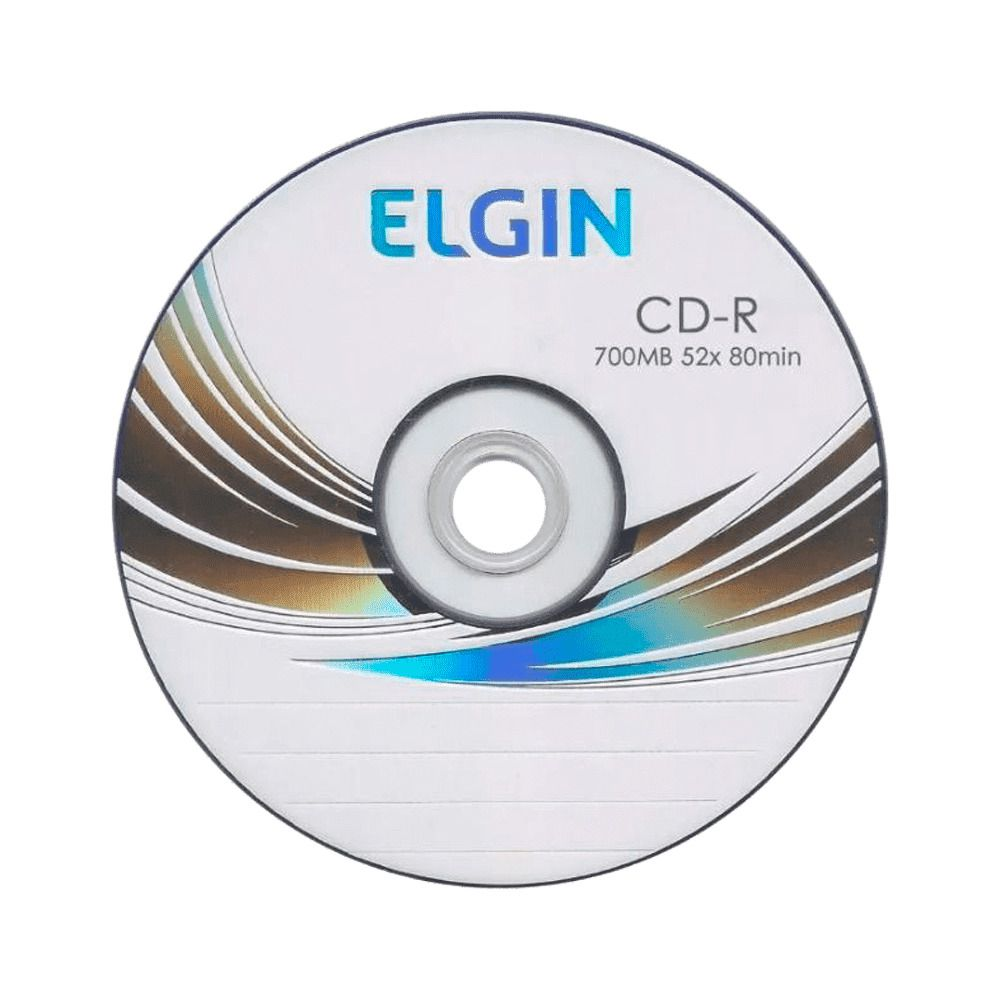 Mídia CD-R 700mb/80 min 52x Elgin