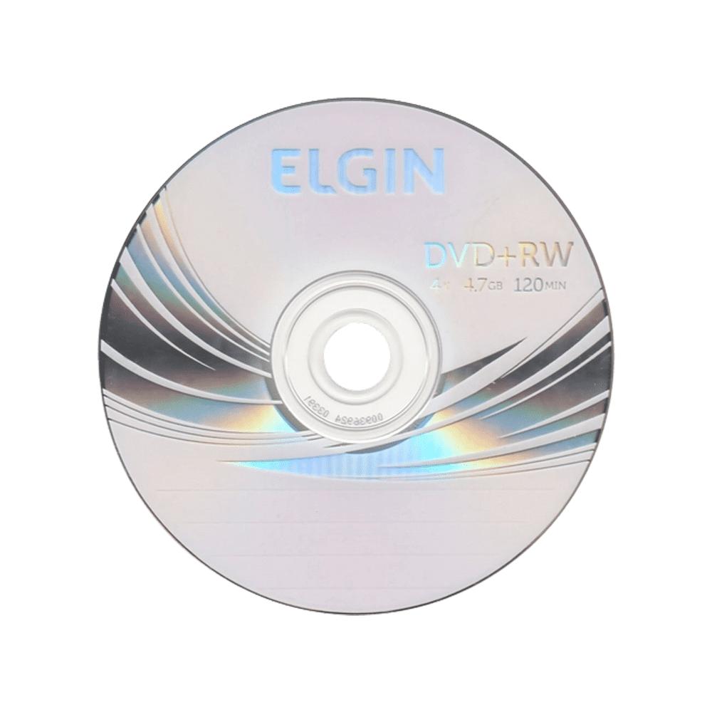Mídia DVD+RW 4,7Gb/120 min 4x Elgin