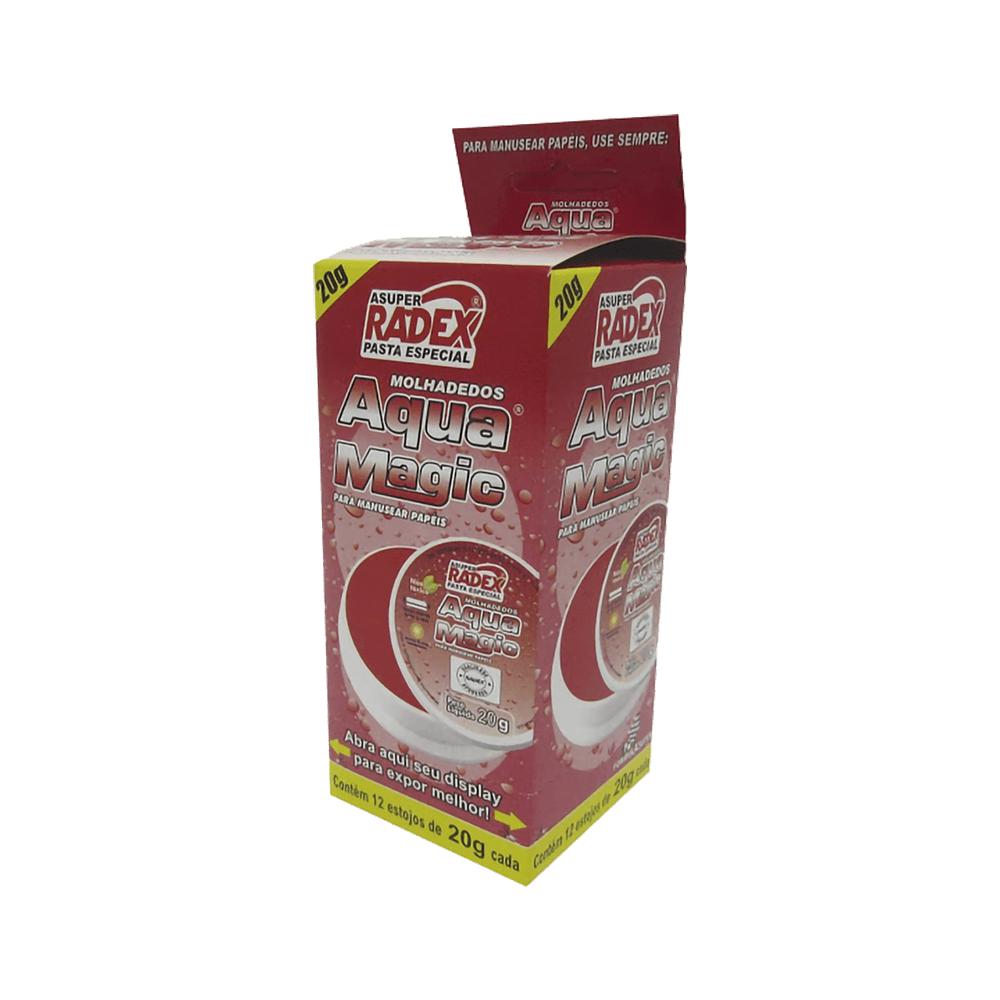 Molha Dedos em Pasta 20gr 12 und Radex