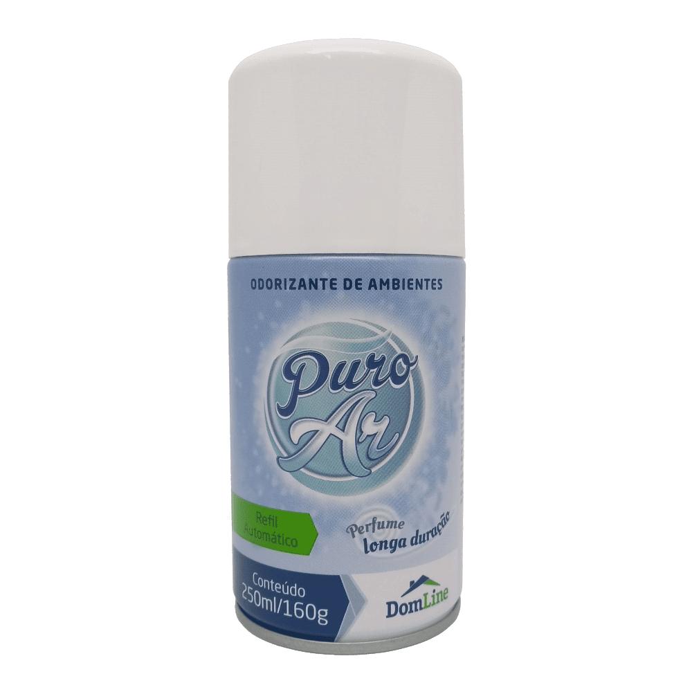 Odorizador Refil Automático Capim Limão 250ml Puro Ar DomLine