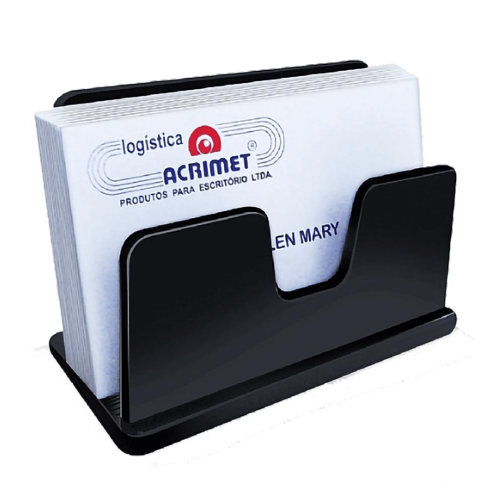 Organizador Porta Cartão Classic Preto Acrimet