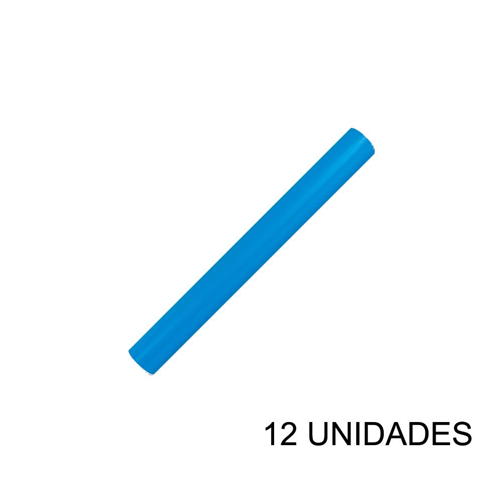 Papel Contact 45cm x 10m Leotack Azul 12 Unidades Leo Arte
