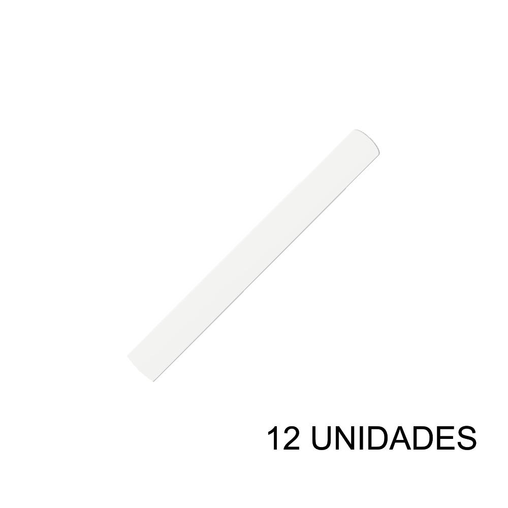 Papel Contact 45cm x 10m Leotack Branco 12 Unidades Leo Arte