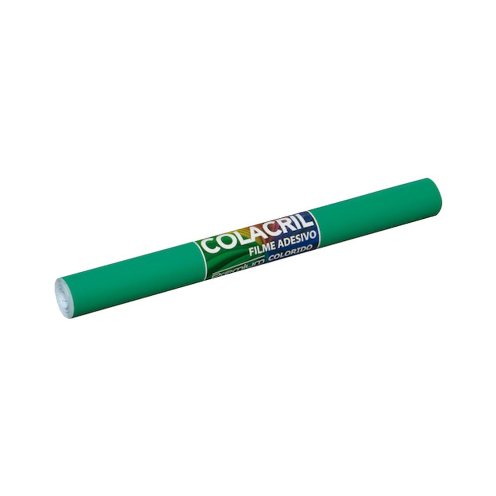 Papel Contact Verde Escuro 45cm x 10m Colacril
