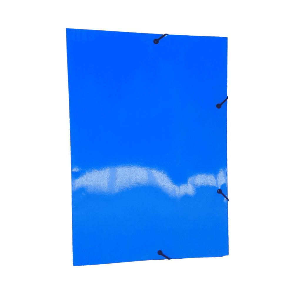 Pasta Aba Elástico Azul Ofício DelloPlus