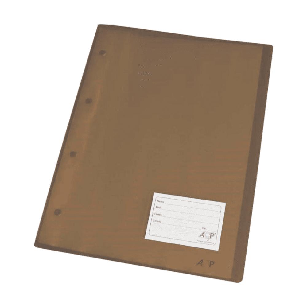 Pasta Catálogo Ofício com 30 Envelopes 1038 Fumê ACP
