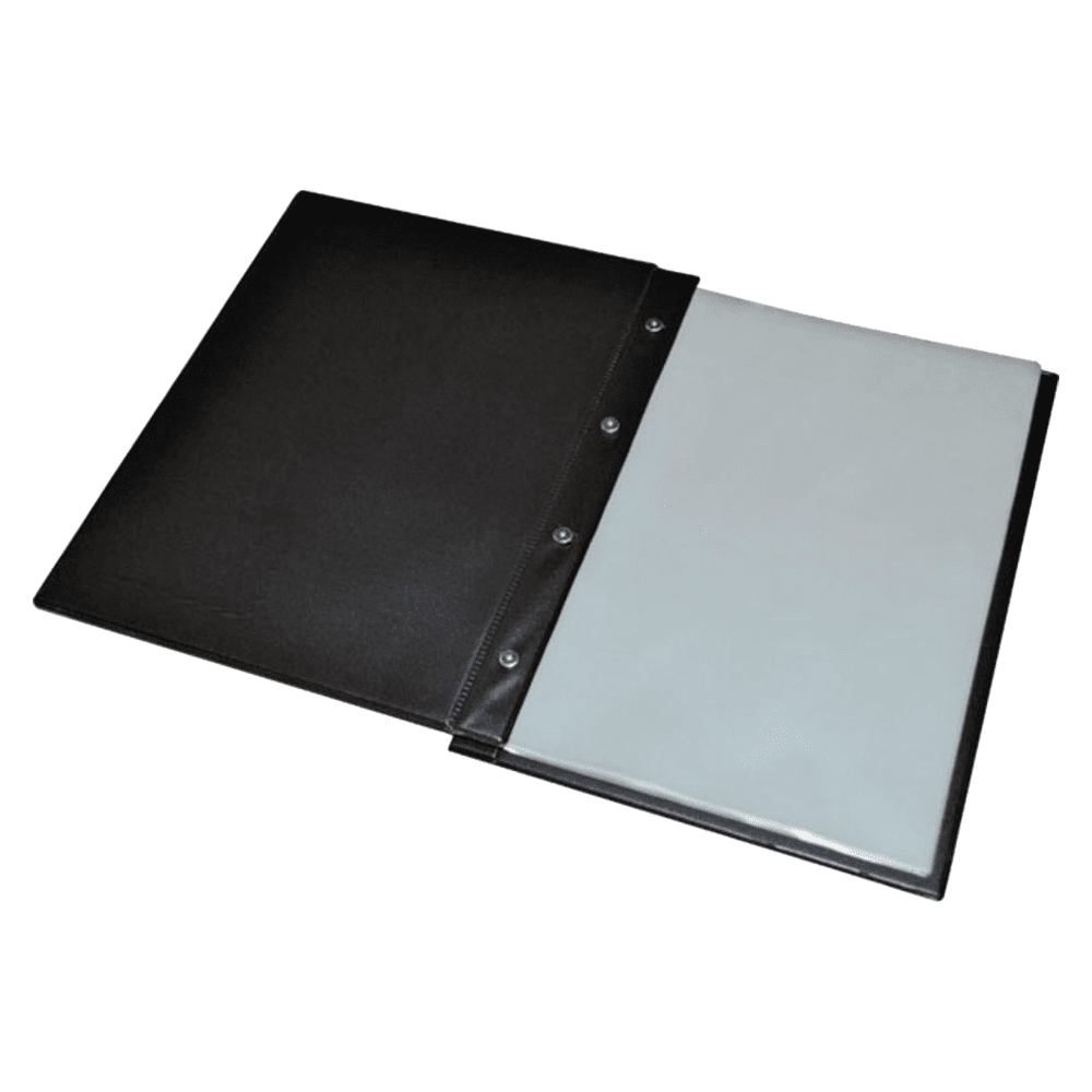 Pasta Catálogo Ofício Com 50 Envelopes 139 Preto ACP