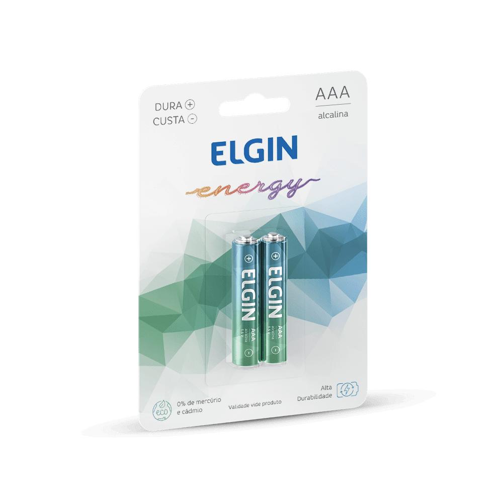 Pilha Alcalina AAA 2 und Elgin