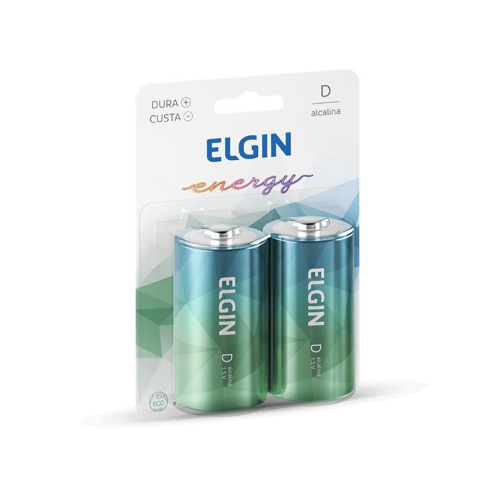 Pilha Alcalina D 2 und Elgin