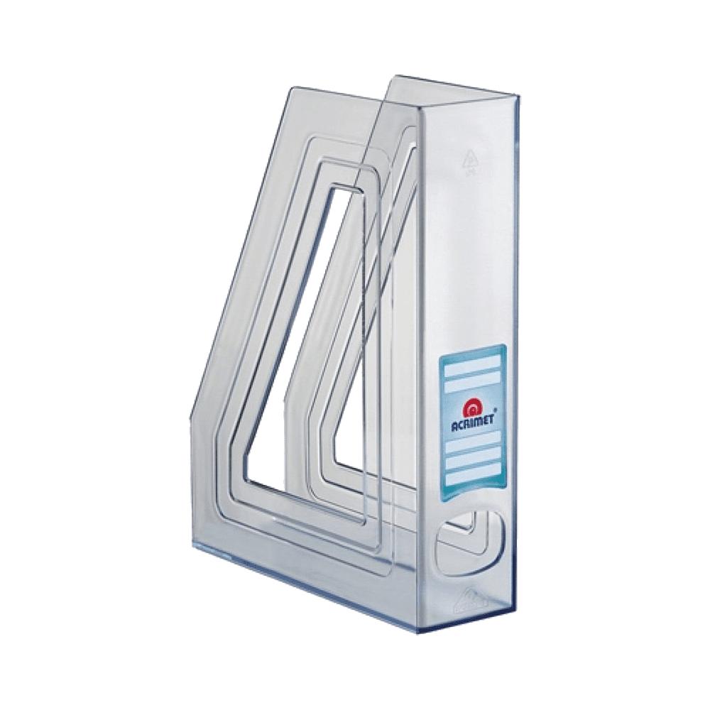 Porta Revista Classic Line 2 unidades Cristal Acrimet