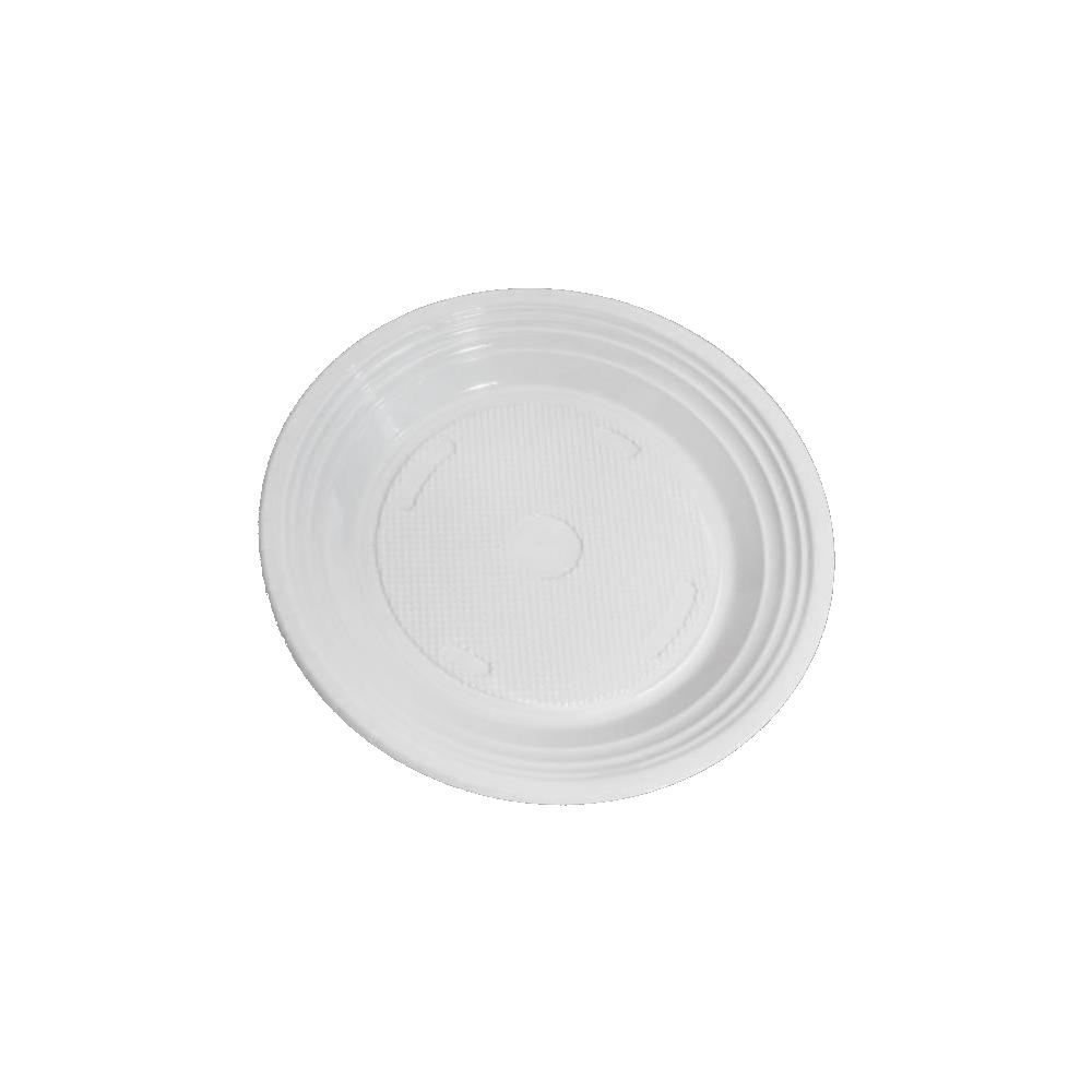 Pratos Descartáveis PS 210mm Branco 1000 Und Copozan