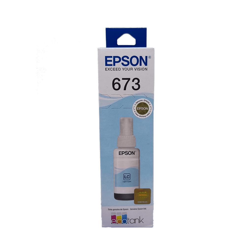Refil de Tinta 673 Ciano Claro 70ml Epson
