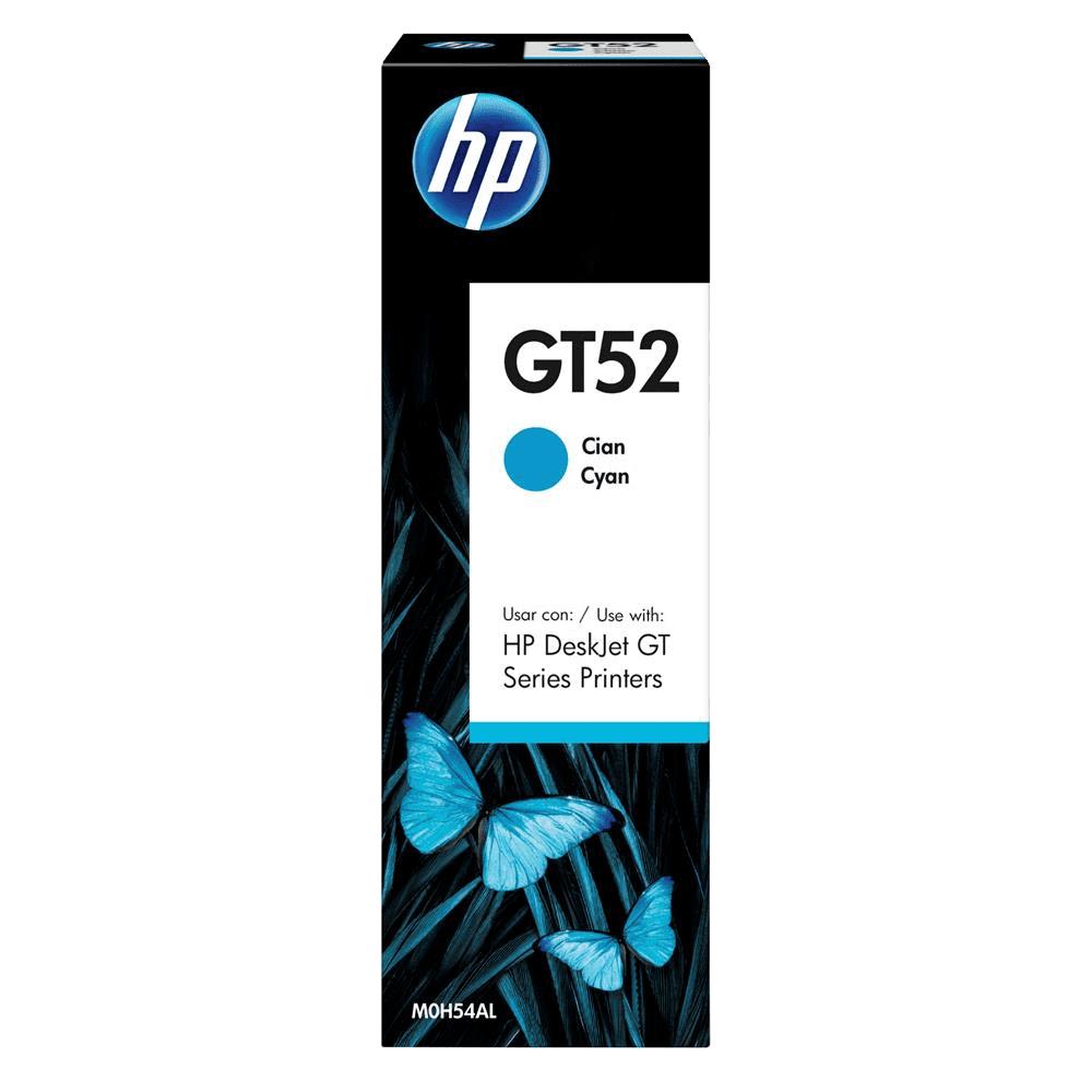 Refil de Tinta GT52 Ciano 70ml HP