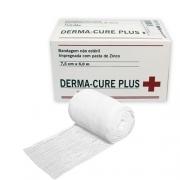 DERMA-CURE PLUS 7,5 CM X 6 M BANDAGEM COM PASTA DE ZINCO