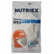 MASCARA DE PROTECAO NUTRIEX N95 BRANCA