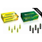 PANTOVIT / BIOPANTOVIT FONTE DE VITAMINA B - CONTEM 60 FLACONETES COM 10 ML
