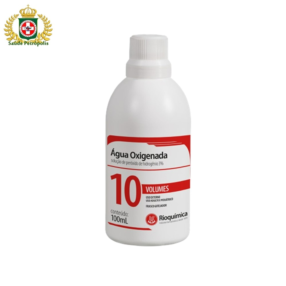 AGUA OXIGENADA 10 VOL 100 ML GOTAS