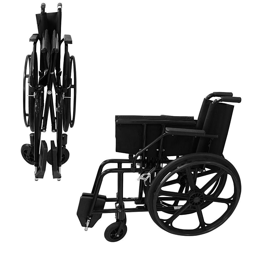 Cadeira de Rodas Confort Liberty - Obeso - Prolife - 001 (Pneu Maciço)