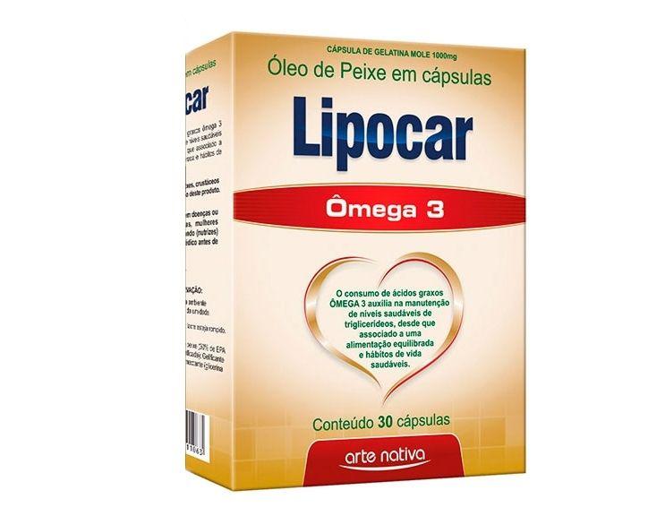 LIPOCAR 1G COM 30 CÁPSULAS
