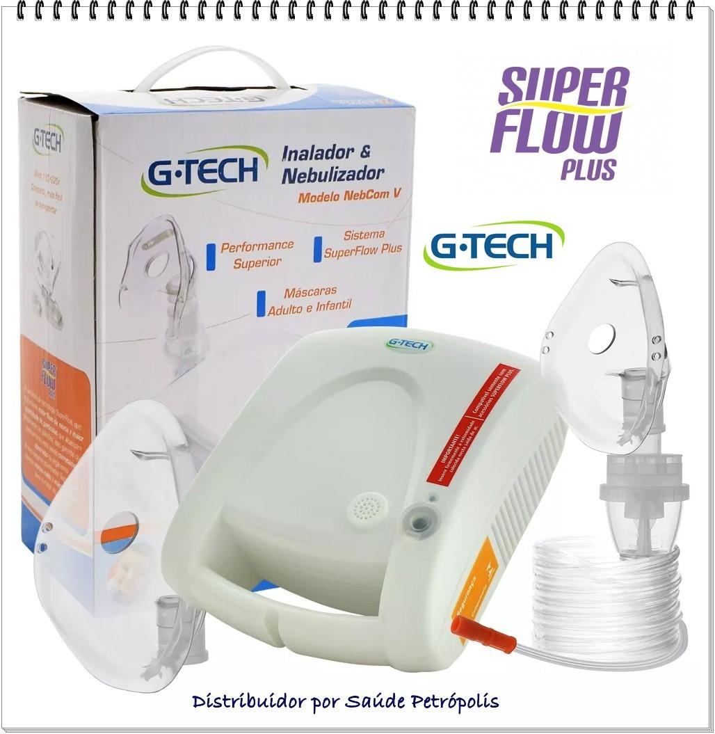 Nebulizador E Inalador Modelo Nebcom V G-tech