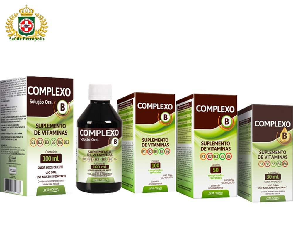 SUPLEMENTO ALIMENTAR COMPLEXO B