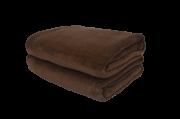 Cobertor Microfibra Plush Marrom