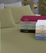 Lençol  Avulso em Malha 100% algodão - Queen  - GRÁTIS 2 fronha em malha de algodão 50 cm x 70 cm , da mesma cor do lençol comprado.
