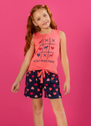 Short Doll Regata com Silk - Infantil