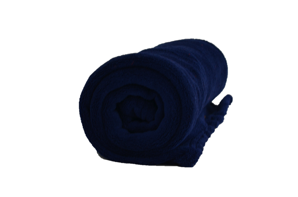 Cobertor Microfibra Infantil Liso Azul Marinho